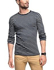 Esprit 076ee2k038, T-Shirt à Manches Longues Homme
