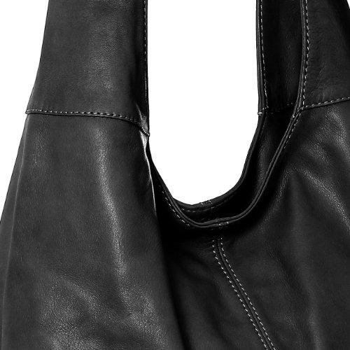 CASPAR Taschen & Accessoires, Borsa a spalla donna Black