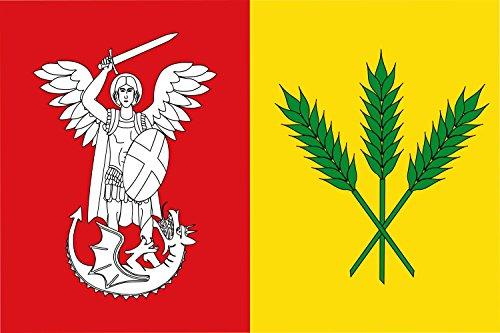 magFlags Bandera Large Rectangular de Proporciones 2 3, fomada por Dos Franjas Verticales Iguales   Bandera Paisaje   1.35m²   90x150cm