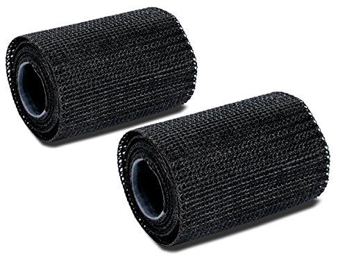 Poppstar 2x Reparaturband (5cm x 130cm lang), Gewebeband stärker als Klebeband - Panzertape (Glasfasergewebe beschichtetes Polyurethan), Outdoor Band