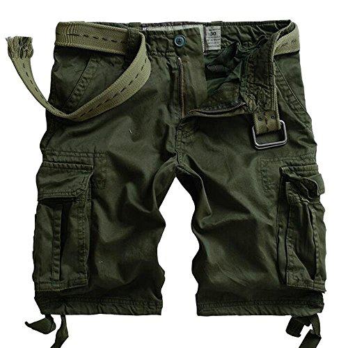 Must way pantaloncini - cargo - uomo army 50