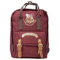Harry Potter Kids Backpack Hogwarts - Boys Girls Unisex School Bag - Children Canvas Daypack Camping Rucksack - Spacious Sleepover Holiday Laptop Satchel