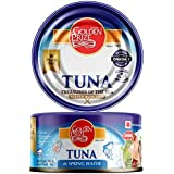 Golden Prize Canned Tuna Chunks in Spring Water, 185g