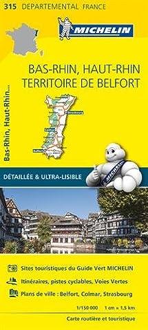 Carte Et Le Territoire - Carte Bas-Rhin, Haut-Rhin, Territoire de Belfort
