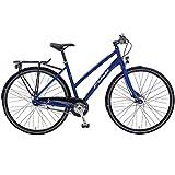 28 Zoll Crossrad Fuji Absolute City 1.3 ST Urban Damenfahrrad , Rahmengrösse:48 cm, Farbe:Satin Blue