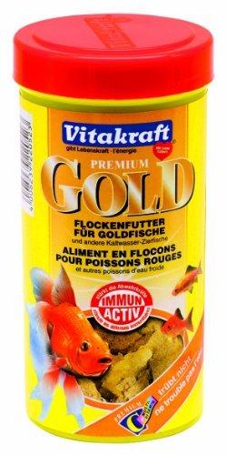 VITAKRAFT GOLD Flockenfutter 250ml (Vitakraft Fischfutter)