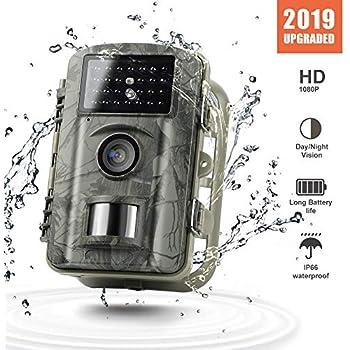 Gosira 12MP 1080P Trail Wildlife Camera Trap with Infrared