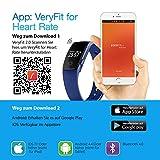 【Neue Version】 Fitness Tracker,Mpow Bluetooth 4,0 Fitness Armbänder mit Pulsmesser,Smart Fitness Tracker mit Herzfrequenzmesser, Schrittzähler, Schlaf-Monitor, Aktivitätstracker, Remote Shoot, Anrufen / SMS, finden Telefon für Android iOS Smartphone wie iPhone 7/7 Plus/6S/6/6 Plus, Huawei P9. - 8
