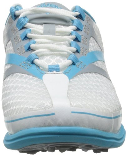 Call away Solaire SE Scarpe donna soft spikes, (White/silver/blue), 36.5 EU (White/silver/blue)