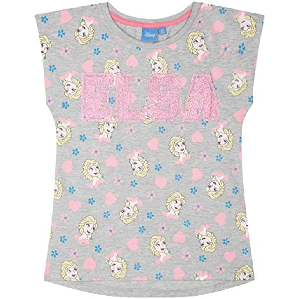 cab25ac24 Disney El Reino del Hielo Camiseta Manga Corta para Chicas