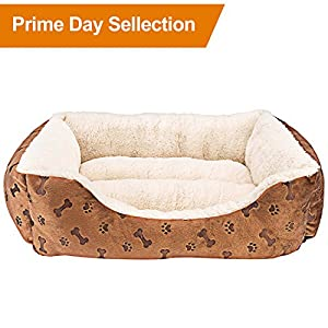 Animals-Favorite-Rectangle-Pet-Bed-with-Dog-Paw-Printing-22-x-18