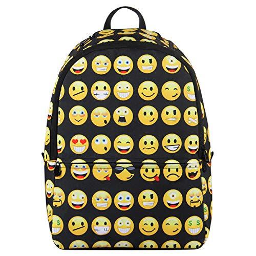 Veevan zaini da scuola con emoji per bambini