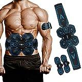 DoCH Electroestimulador Muscular Abdominales, Abdomen/Brazo/Piernas/Cintura Entrenador Muscular 10 Niveles de Intensidad Muscle Building y quemagrasas máquina de Entrenamiento