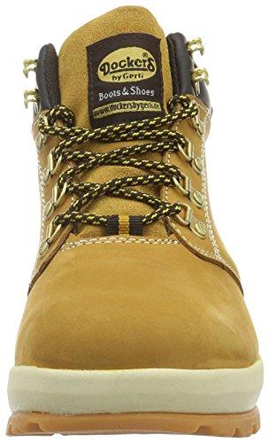 Dockers by Gerli Herren 39or001-302 Combat Boots Gelb (GOLDEN Tan 910)