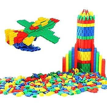 5a190bfe5615e ... en Plastique Jeux de Construction Balle Forme Coloré 3D DIY Jeu  Educatifs Créatif Puzzle Jouet Sécurité Cadeau Noël pour Enfants Filles  garçons 3-6ans