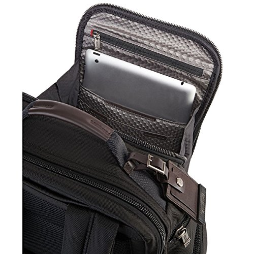 Tumi - Sac à dos Alpha Bravo Brief Pack® de luxe Shaw (222389) taille 43 cm Hickory