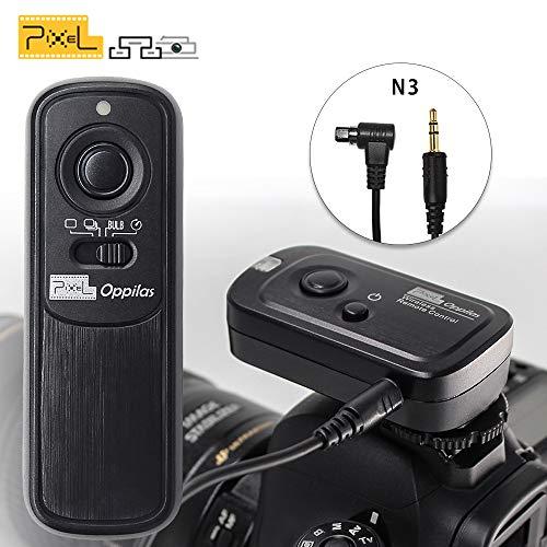 PIXEL RW-221/N3 sans Fil Déclencheur Minuteur Télécommande Câble de déclenchement pour Canon EOS 1D 5D III IV 6D II 7D II 70D 50D 40D 30D 20D 10D