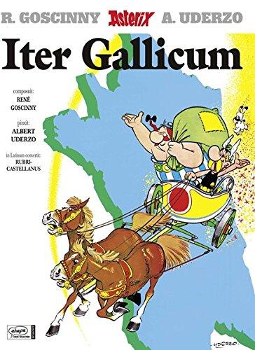 ITER GALLICUM (LE TOUR DE GAULE EN LATIN) par René Goscinny