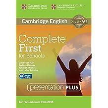 Complete First for Schools. Presentation Plus per lavagna interattiva. DVD-ROM