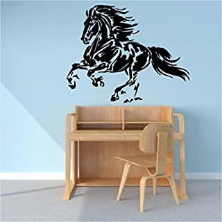FRIESIAN HORSE Style1 VINYL WALL ART DECAL by ABAK Trading International LLC