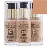 Max Factor Facefinity All Day Flawless 3 In 1 Foundation SPF 20, No. 85 Caramel by Max Factor