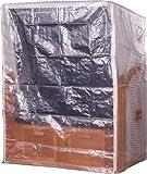Mr. Deko PVC Zweisitzer Strandkorb Schutzhülle Haube Abdeckplane (transparent)