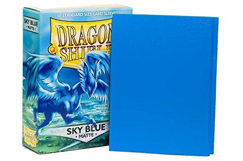 Arcane Tinmen ApS ART11219 - Dragon Shield Matte, himmelblau, 60 Stück (Dragon Shield Sleeves Green)