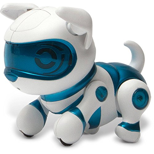 Tekno-Newborns-Electronic-Robotic-Pet-Puppy-Blue-Color-by-Echo-Tech