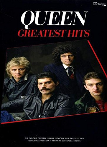 GREATEST HITS QUEEN V.1CHT: Guitar Tab Songbook (Gtab)
