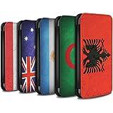 Stuff4 Coque/Etui/Housse Cuir PU Case/Cover pour Samsung Galaxy S8 Plus/G955 / Pack 53pcs Design / Drapeau Collection