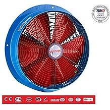 Ventilador Axial ventilador ventilador industria Ø2501200m³/h extractor de aire silencioso