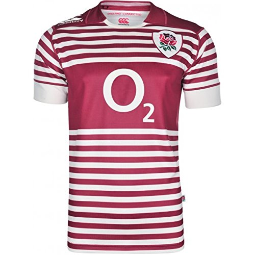 Angleterre 2013/14 Collection 1871 Enfants - Maillot de Rugby Pro Alterné MC Rouge