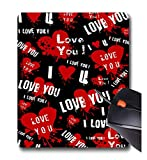 Roseanne Jones - i Love you Red Love star- gomma antiscivolo mouse Gaming Mouse pad