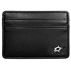 NHL Dallas Stars Leather Weekend Wallet, Black