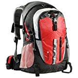 AspenSport Zaino Outdoor, 40 litri, con dispositivo per bere, Rosso (rot), 40 litri