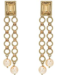APSARA ART JEWELLERY New Arrival Stylish Bollywood Inspired Stylish Fancy Party Wear Gold Plated American Diamond...