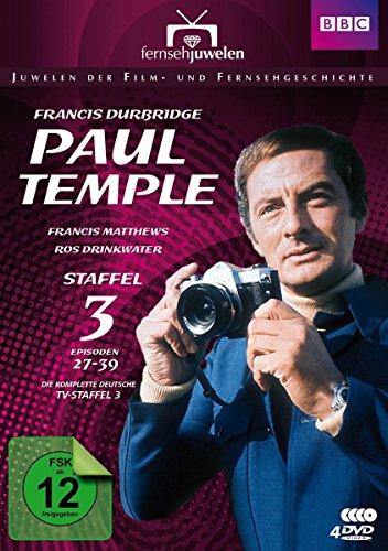 Bild von Francis Durbridge: Paul Temple - Staffel 3 - Die komplette ZDF-Fernseh-Saison 3 (Folgen 27-39) - Fernsehjuwelen [4 DVDs]