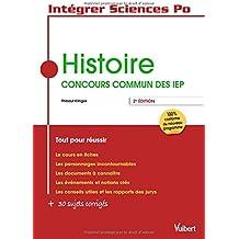 Histoire - Concours commun des IEP - Tout pour réussir