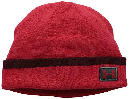 Bonnet Sideline de manchette infrarouge ColdGear hommes, rouge (600), une taille