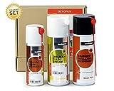 Teslanol Technisches Reinigungs-Set mit Druckkopfreiniger-Spray, Druckluftspray und Walzenreinigerspray