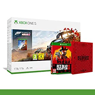 Xbox One S 1TB + Forza Horizon 4 + 14gg Xbox Live Gold + 1 Mese Gamepass [Bundle] + Red Dead Redemption 2 + Steelbook da Collezione - Bundle Limited - Xbox One (B07PK587KB) | Amazon price tracker / tracking, Amazon price history charts, Amazon price watches, Amazon price drop alerts