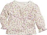 Schnizler Baby-Mädchen Langarmshirt Sweatshirt Blumen, Beige (Beige 6), 80