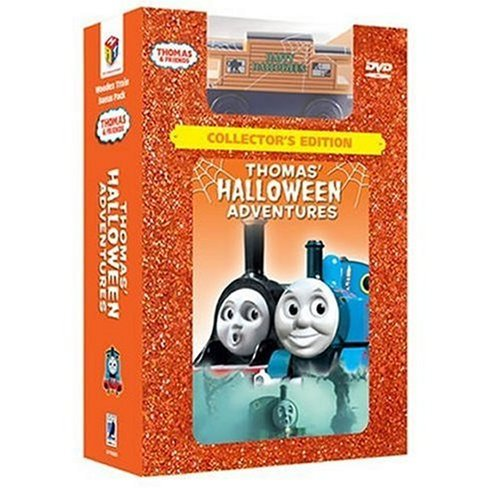 ***COLLECTORS EDITION*** Thomas Halloween Adventure {FREE BONUS HALLOWEEN TRAIN & BONUS GAME, CHARCTER GALLERY, READ ALONG STORY & 2 SING-ALONG SONGS}