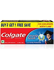 Colgate Dental Cream Toothpaste - 400 g (Pack of 2) with 1 Free Dental Cream - 100 g