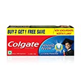 #9: Colgate Dental Cream Toothpaste - 400 g (Pack of 2) with 1 Free Dental Cream - 100 g