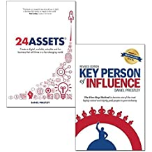 24 Assets and key person of influence daniel priestley collection 2 books set