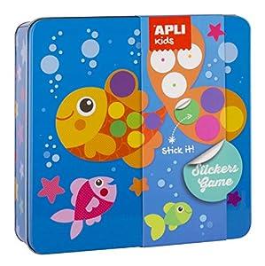 APLI Kids- Juego de gomets, Multicolor (15219)