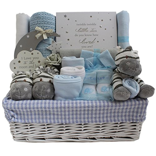 b7ac85568dc5b Baby boy Gift Baskets Baby boy Gift hampers Deluxe Baby Shower Gift ...