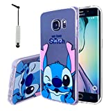 VComp-Shop Coque de Protection en Silicone TPU Transparent pour Samsung Galaxy S6...