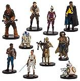 Disney Set 11 Personaggi PVC LA Resistenza - Star Wars L'ASCESA di Skywalker